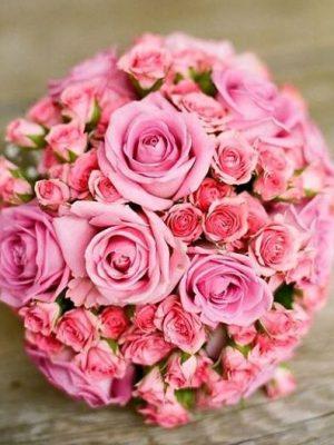 svatben-buket-s-rozovi-rozi